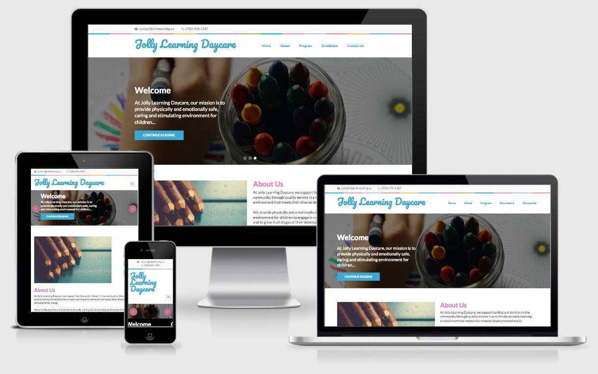 JollyLearning.ca Website
